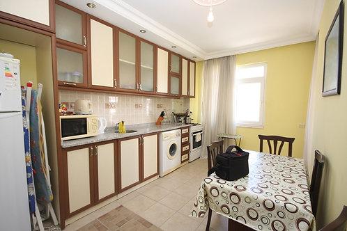 Апартаменты 3+1 с отдельной кухней и камином на балконе (Тосмур)
