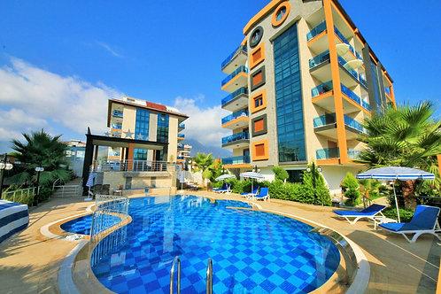 Новые апартаменты-люкс 1+1 (роскошный комплекс с собственным пляжем!)