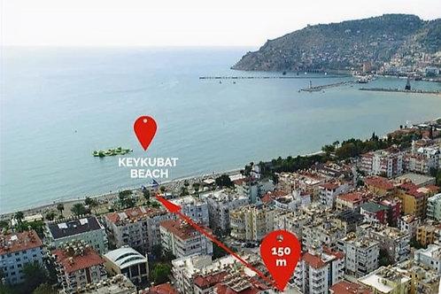 Роскошные новые апартаменты 1+1 в историческом центре Аланьи (150 м до моря!)