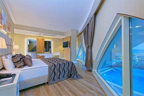 Пятизвёздочный отель роскошной концепции на 1 линии моря (Оба)