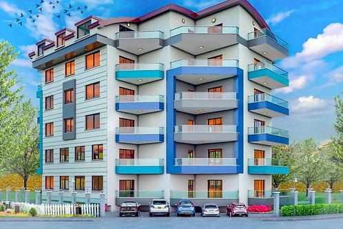 Zera Panorama 2: строительство жилого комплекса в Махмутларе