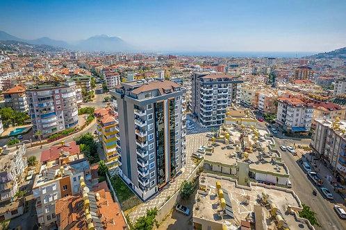 Новые квартиры от застройщика в центре Аланьи: 1+1, 2+1, 3+1