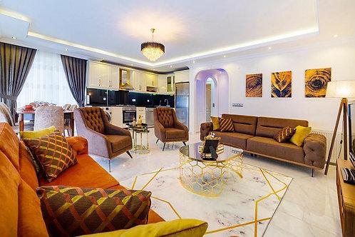 Просторные апартаменты 3+1 с новой мебелью и техникой (Махмутлар)