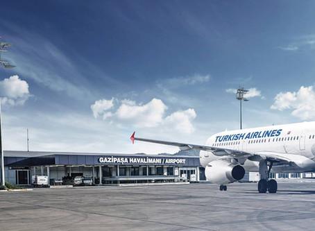 Аэропорт Аланьи примет первые рейсы уже 4 июня