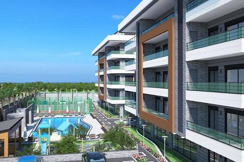 Оba Twins - роскошный жилой комплекс с панорамным видом и огромным бассейном