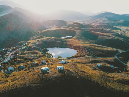 В Торосских горах, окружающих Аланью, есть бездонное озеро