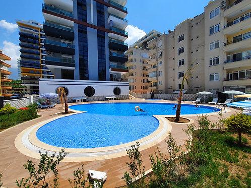 """Двухкомнатная квартира класса """"люкс"""" в Махмутларе, с балкона видно море!"""
