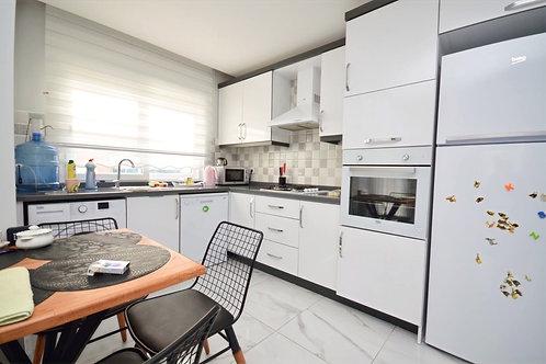Красивые, просторные апартаменты 1+1 с новой мебелью и техникой