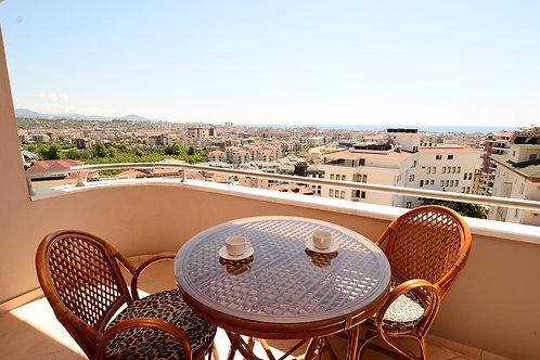 Меблированные апартаменты 2+1 с панорамным видом (Джикджилли)