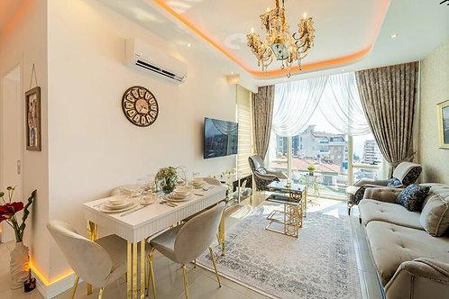 Роскошные апартаменты 1+1 в Махмутларе от Yekta Homes
