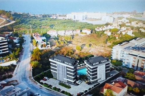 Участок земли с проектом строительства жилого комплекса на 40 апартаментов