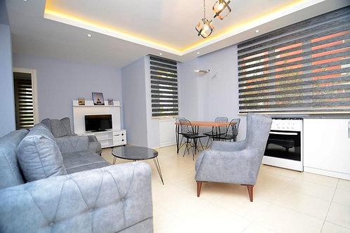 Апартаменты 3+1 с новой мебелью и техникой (Махмутлар)