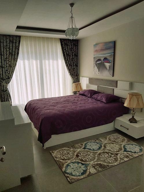 Роскошные апартаменты 1+1 в 170 м до пляжа (Оба)