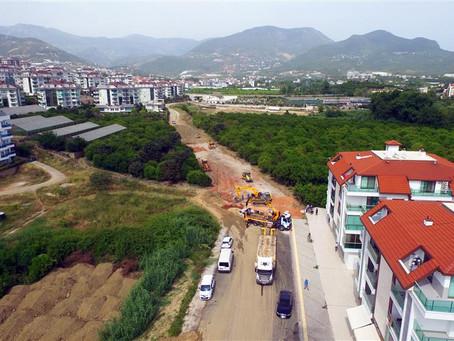 В Аланье делают дорогу, которую жители ждали 25 лет