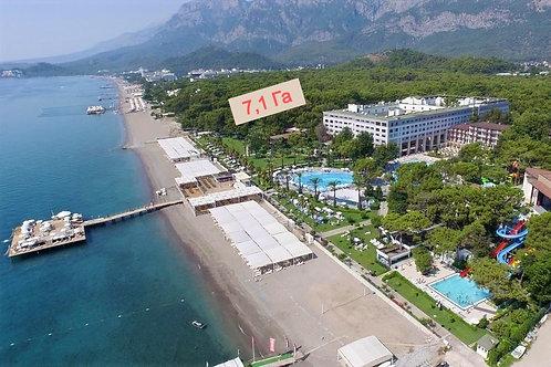 Огромный участок земли на 1 линии моря в Кемере: под строительство отеля (arsa)