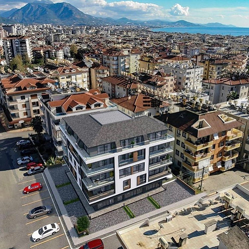 Новые апартаменты 3+1 центре Аланьи (разные этажи)