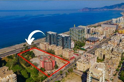 CEBECI TOWERS -  элитный жилой комплекс на 1 линии моря (Махмутлар)