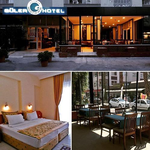 Размещение в отеле в центре Аланьи