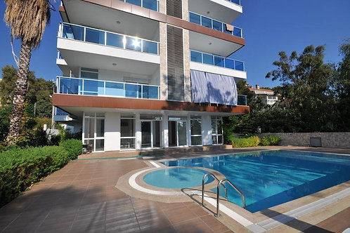 Новые апартаменты-люкс 1+1 в Авсалларе (500 м до пляжа!)