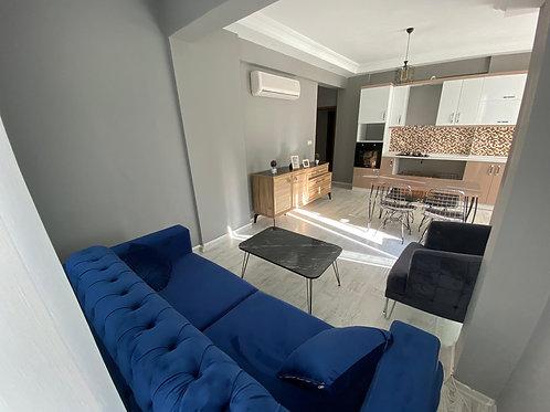 Стильные апартаменты 1+1 в Махмутларе (250 м до моря!)