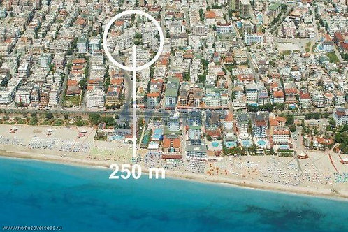 Апартаменты элит-класса 1+1 у пляжа Клеопатры