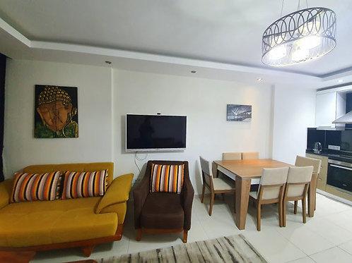 Меблированные апартаменты 1+1 в роскошном комплексе в Махмутларе