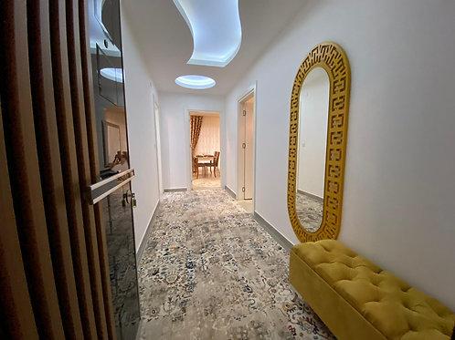 Новые апартаменты 1+1 в Махмутларе: стильная меблировка, бытовая техника