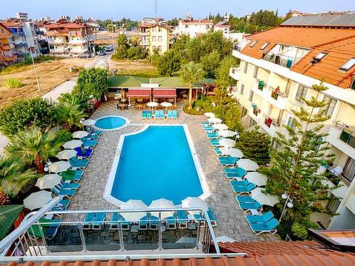 Трёхзвёздочный отель с прекрасными показателями (Средиземное море)