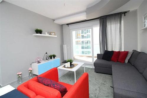 Апартаменты 1+1 с мебелью в Махмутларе
