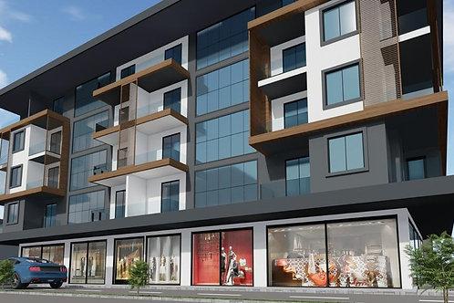 """Пять новых апартаментов класса """"люкс"""" 1+1 в центре Аланьи по оптовой цене!"""