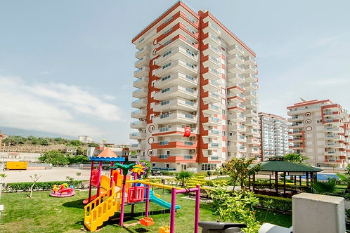 Меблированные апартаменты 1+1 в роскошном комплексе (Махмутлар)