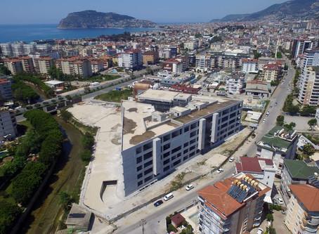 В Аланье возобновились строительство нового здания мэрии