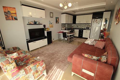Роскошные апартаменты 1+1 с мебелью и техникой (Кестель)