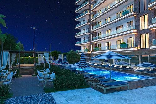 Sonas Loft Residence - новый инвестиционный проект в 500 м от моря в Махмутларе
