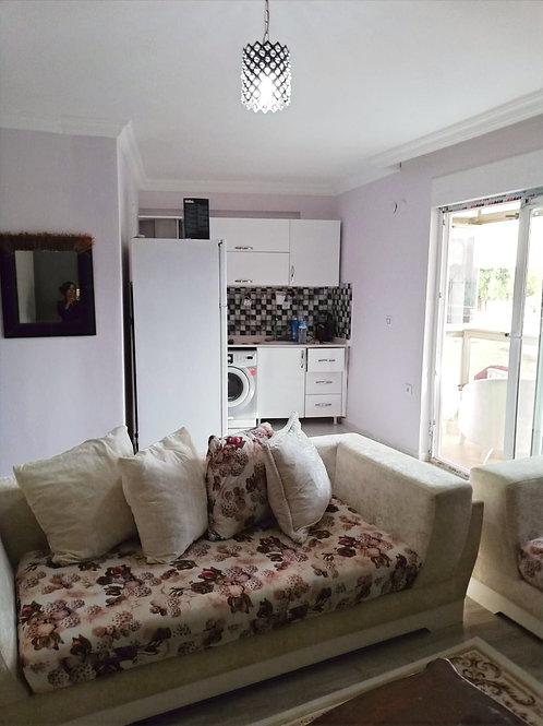 Апартаменты 1+1 с застеклённой террасой (Анталья, Хурма) ВИДЕО!