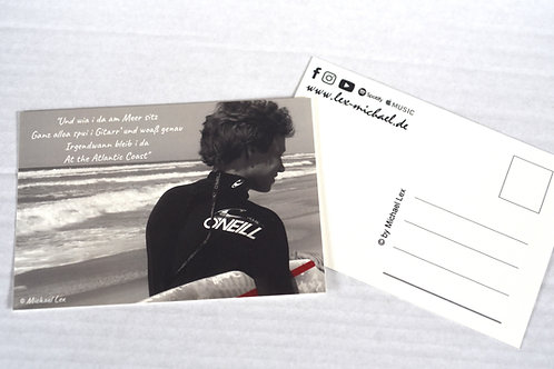 Postkarte 'Atlantic Coast'