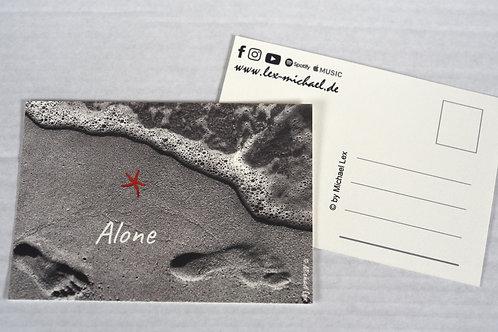Postkarte 'Alone'
