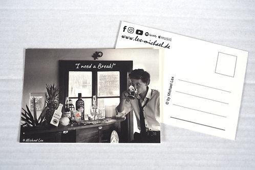 Postkarte 'Break'
