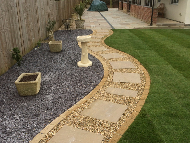 Landscaping Curved Paving