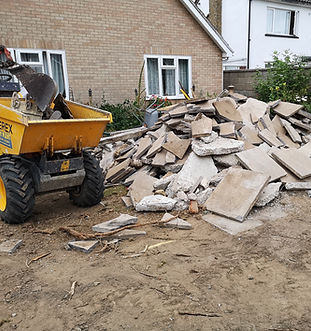 Removing Garden Rubble