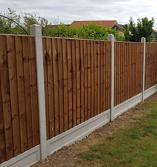 6f Wooden Fencing