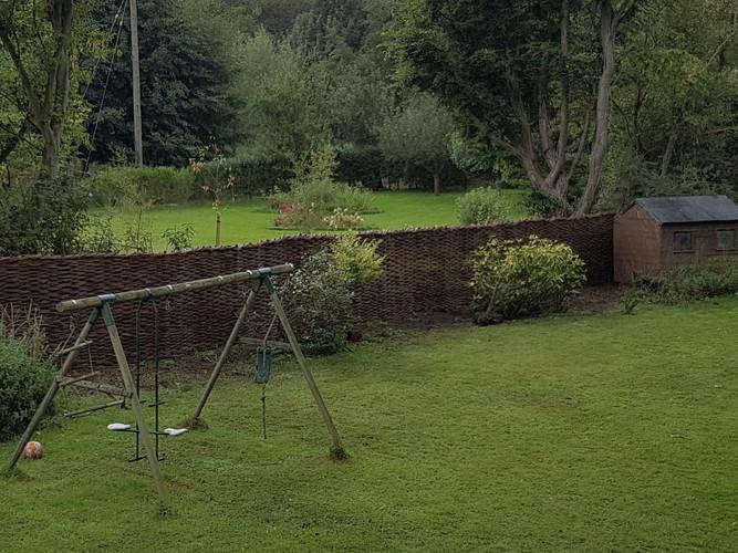 Garden Willow Fencing