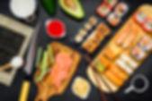 sushi-with-cooking-ingredients-PJK9LSQ.j