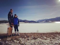 Lovers at Lake Dillon