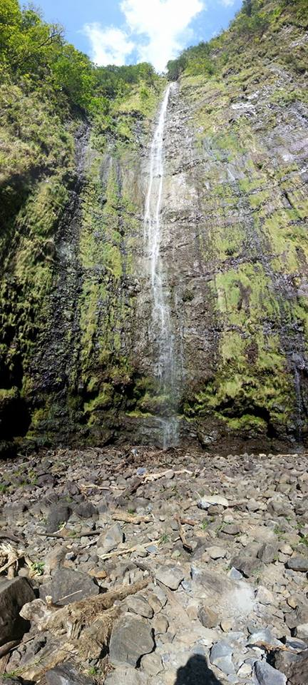 pipiwai falls maui