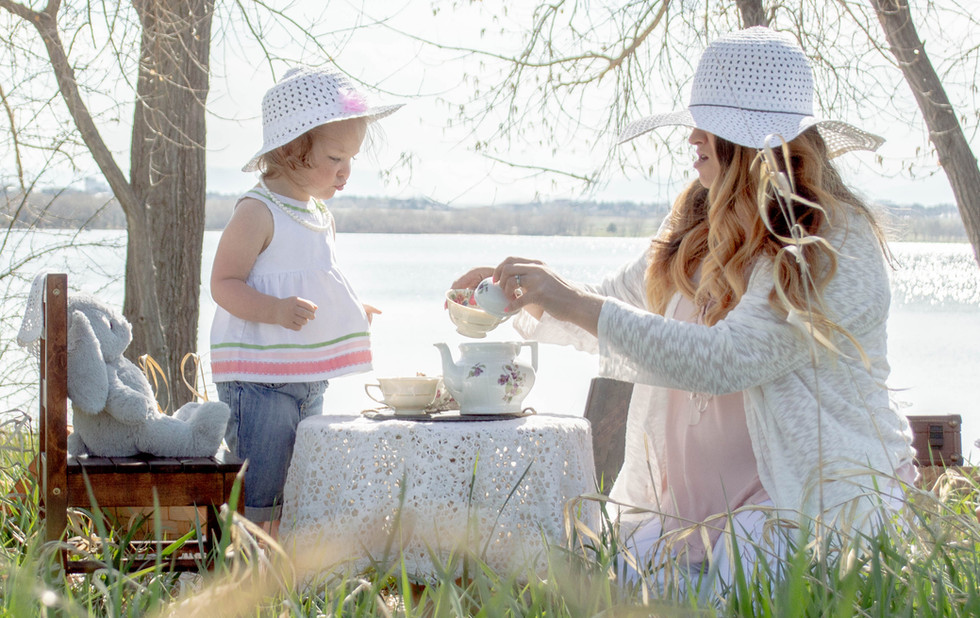 mommy and me tea party photo
