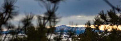 Pikes Peak-a-boo