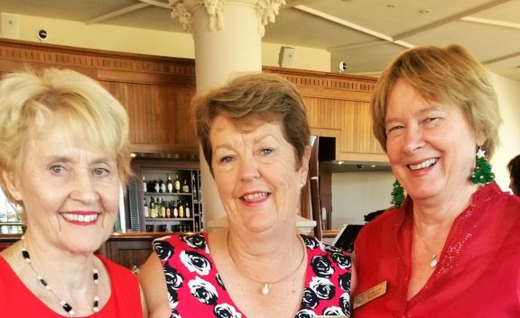 2016 Christmas- Jan, Sue & Corinne