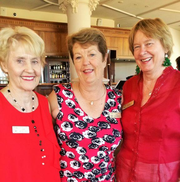 2016 Christmas- Jan, Sue & Corinne