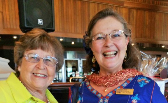 2016 Christmas Lunch - Sandra & Jan
